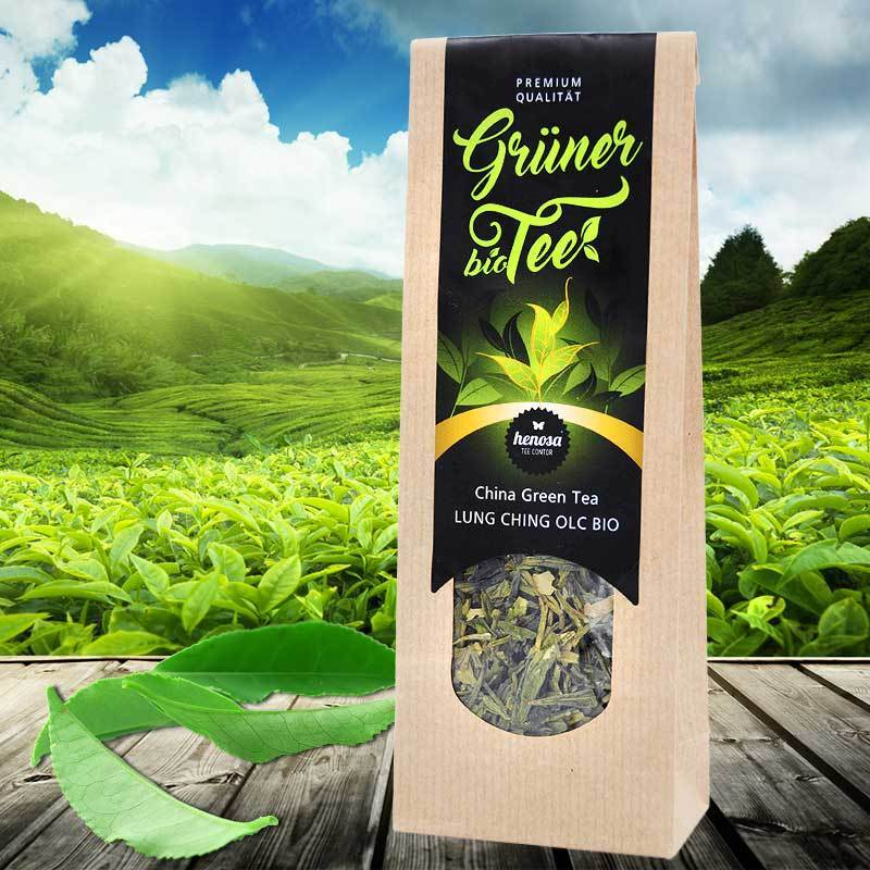 China Green Tea Lung Ching BIO