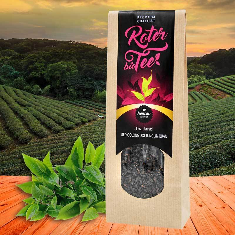 Thailand Red Oolong Doi Tung Jin Xuan